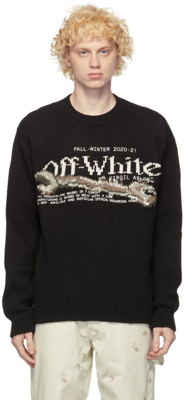 Off-White Black Pascal Tool Sweater