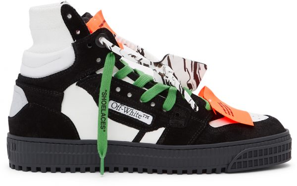 Off-White Black & Purple Off-Court 3.0 High Sneakers