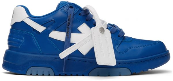 Off-White Blue & White Out Of Office Sneakers
