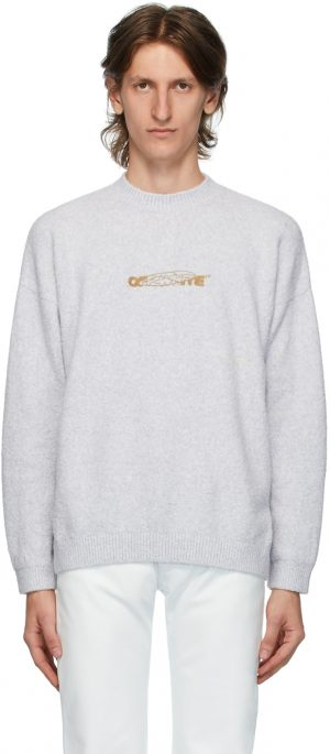 Off-White Off-White Barrel Worker Sweater