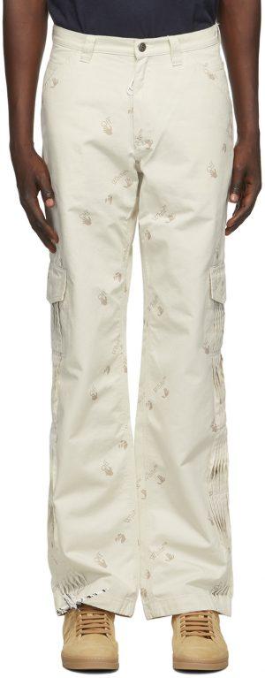 Off-White Off-White Logo Carpenter Cargo Pants