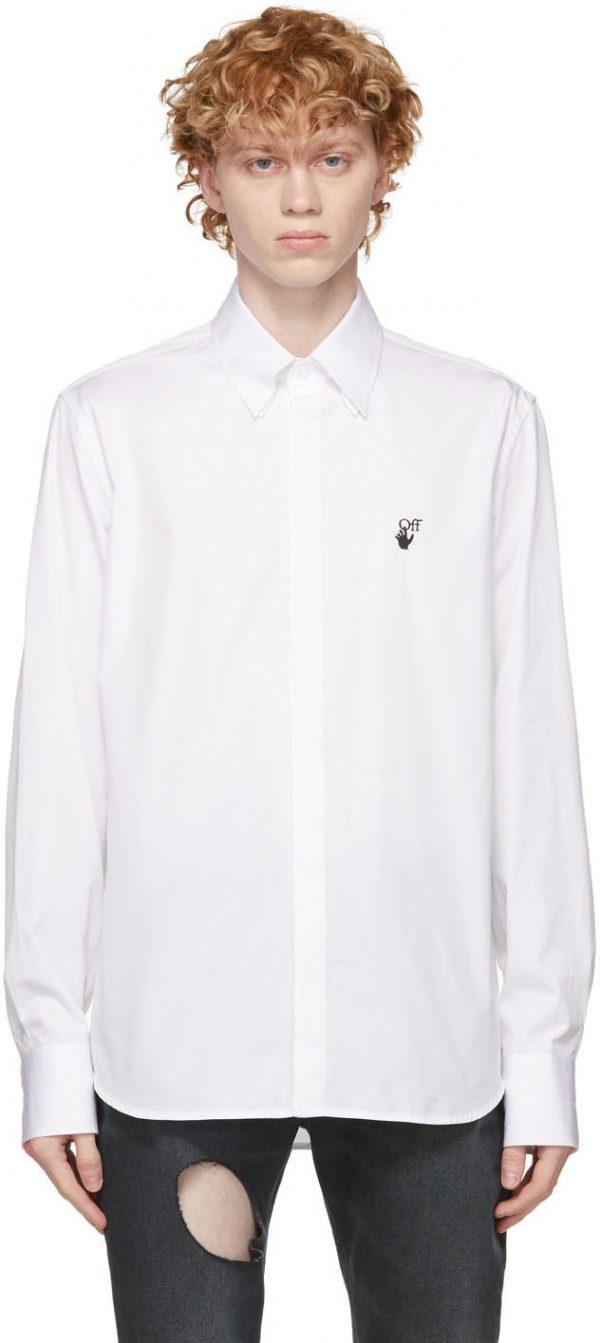 Off-White White Hand Off Shirt