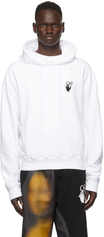 Off-White White Worldwide Hoodie