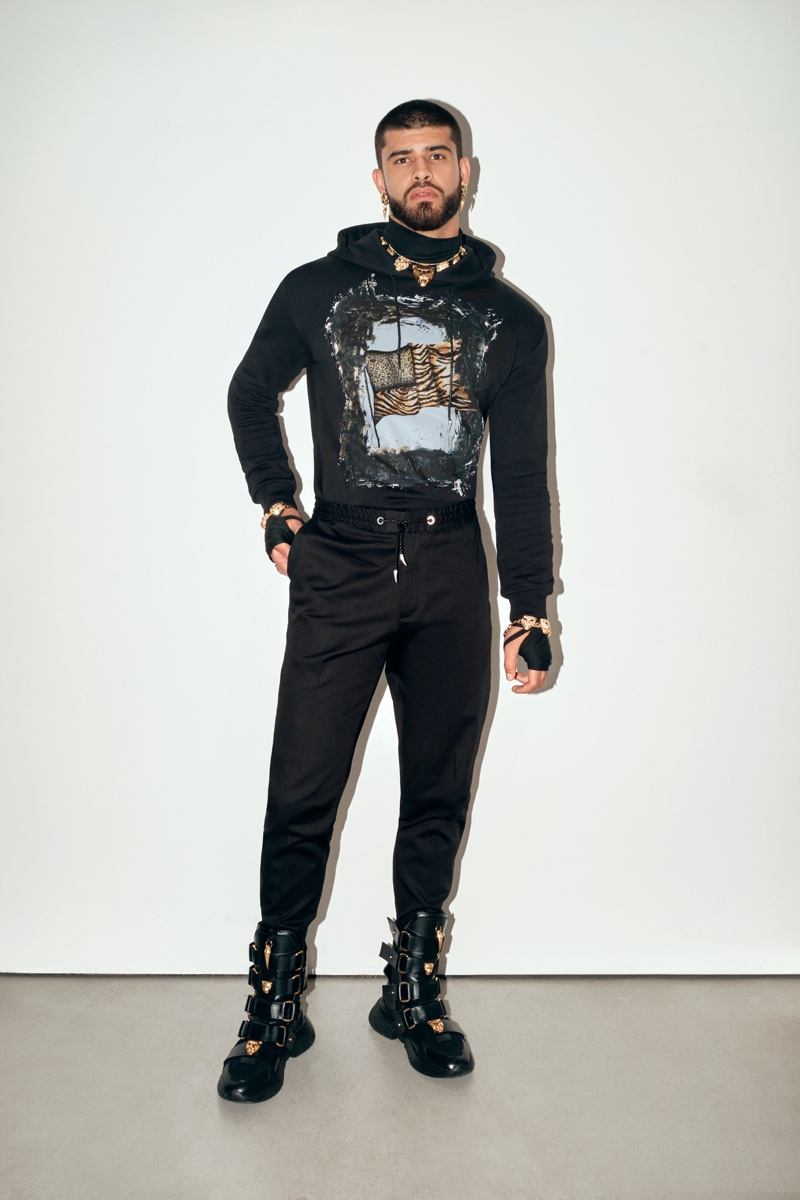 Roberto Cavalli Unveils Mike Tyson-themed Spring Collection