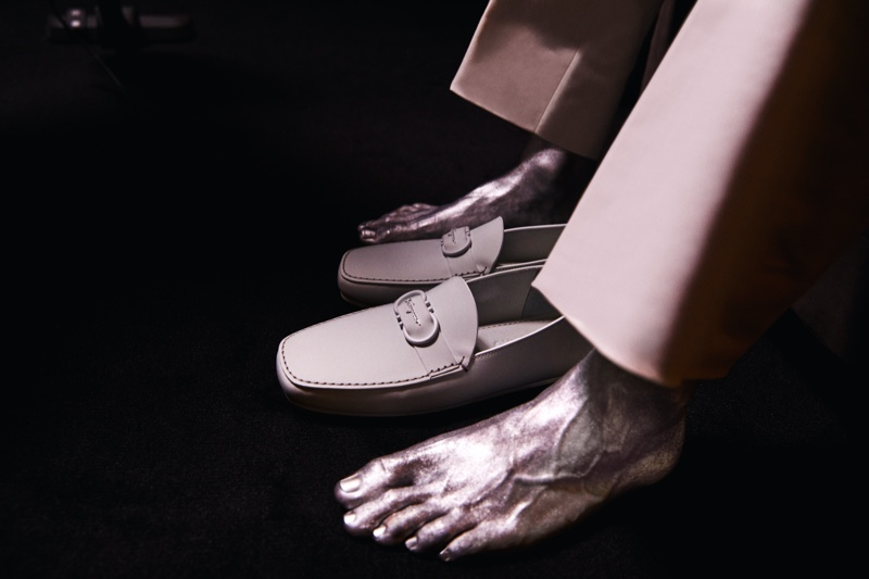 Salvatore Ferragamo features its footwear as part of its fall-winter 2021 campaign.
