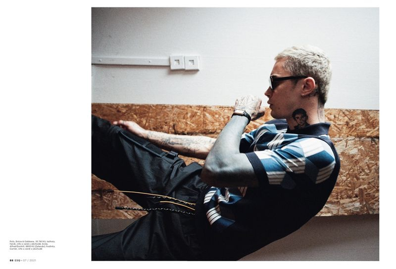 Simon Kotyk Returns with New Esquire Czech Republic Story