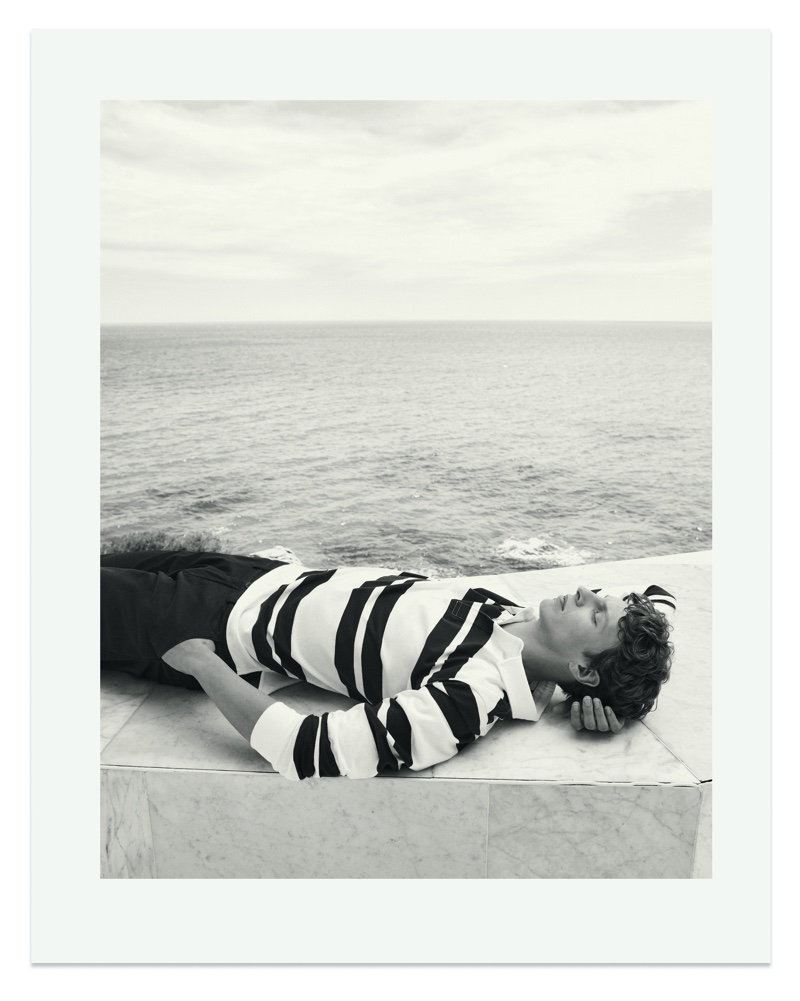 The Summer Wind: Tim Schuhmacher Spends a Lazy Day with Massimo Dutti