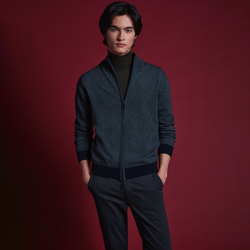 BUGATCHI Delivers a Simply Chic Fall