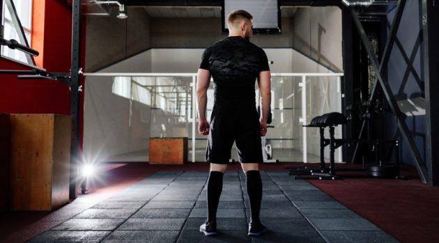 Back Muscular Man Gym