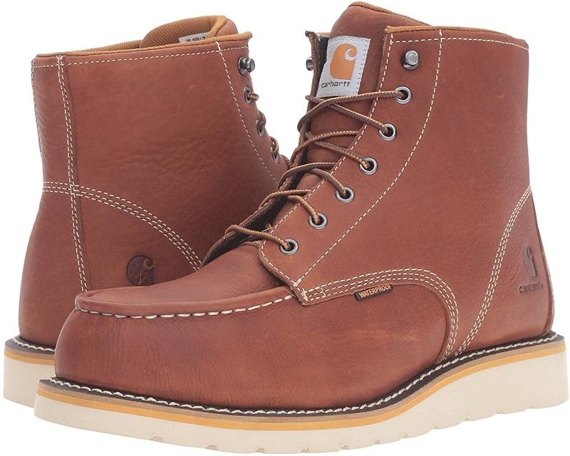 Carhartt 6 Steel Toe Waterproof Wedge Boots