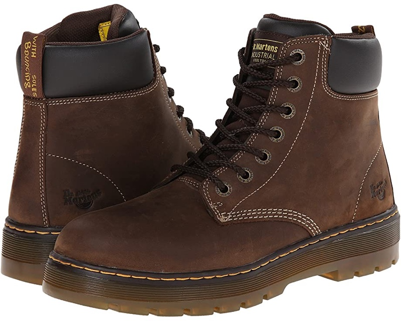 Dr Martens Work Wince Steel Toe Boots