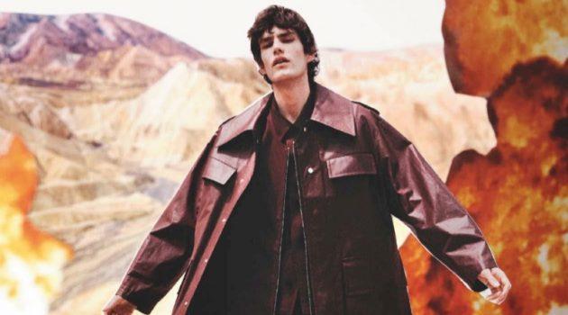 Elias de Poot Rocks Future Fashion for GQ Germany