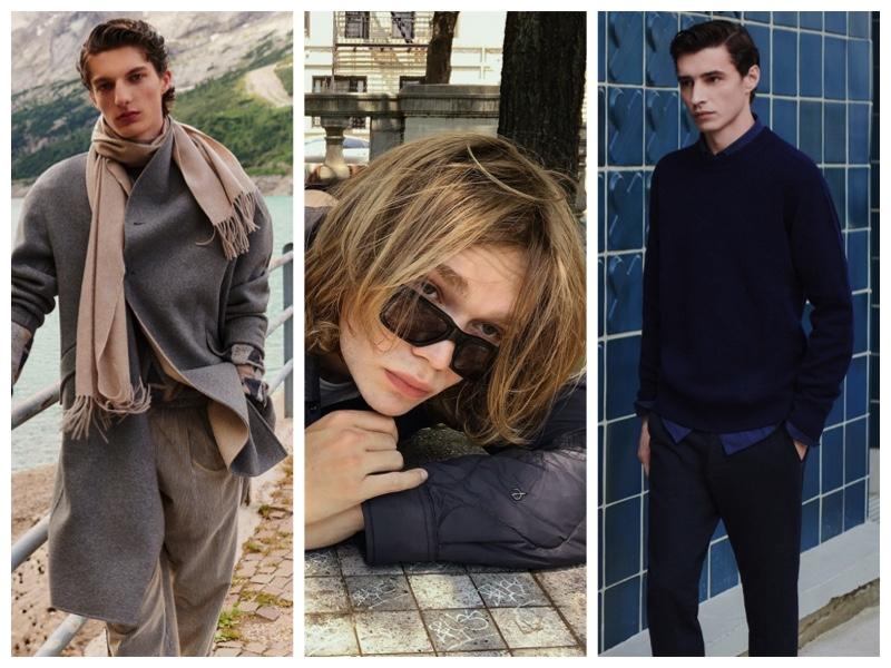 Week in Review: Hugo Gillain for Giorgio Armani, Charlie Plummer for Rag & Bone campaign, Adrien Sahores for Massimo Dutti