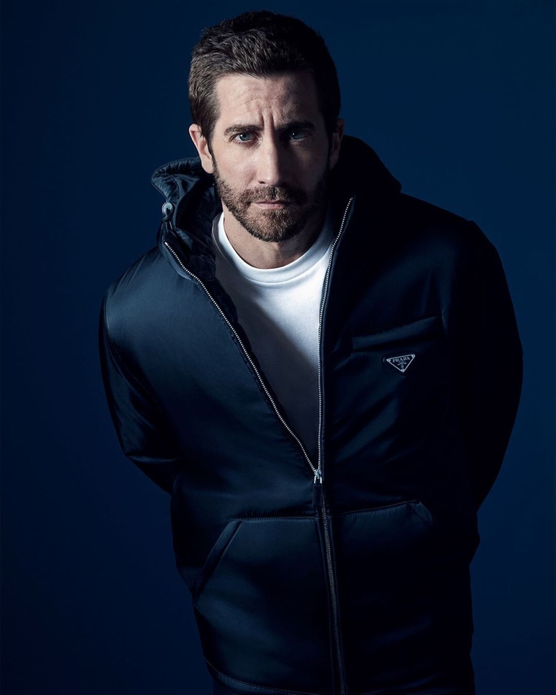 Prada enlists Jake Gyllenhaal as the face of its new fragrance, Luna Rossa Ocean.