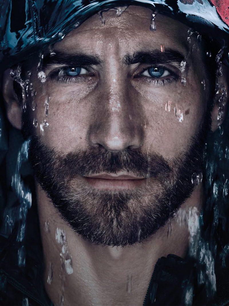Sølve Sundsbø photographs Jake Gyllenhaal for the Prada Luna Rossa Ocean fragrance campaign.