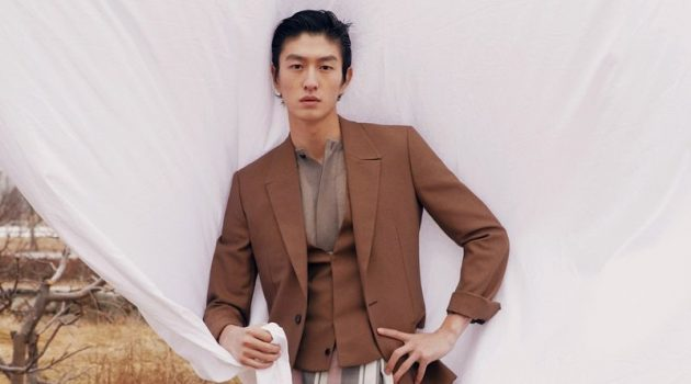 Jin Dachuan Inspires in Elegant Suits for GQ China