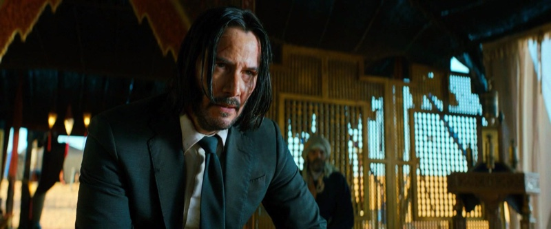 Keanu Reeves as John Wick in John Wick Chapter 3 Parabellum. John Wick may not know how to keep a suit clean but there's just something special about the way he wears one!