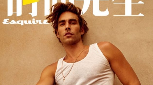 Jon Kortajarena Travels to Lanzarote for Esquire China Cover Shoot