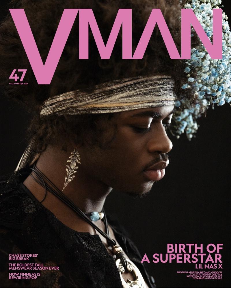 Inez & Vinoodh photograph Lil Nas X for VMAN's 47th issue.