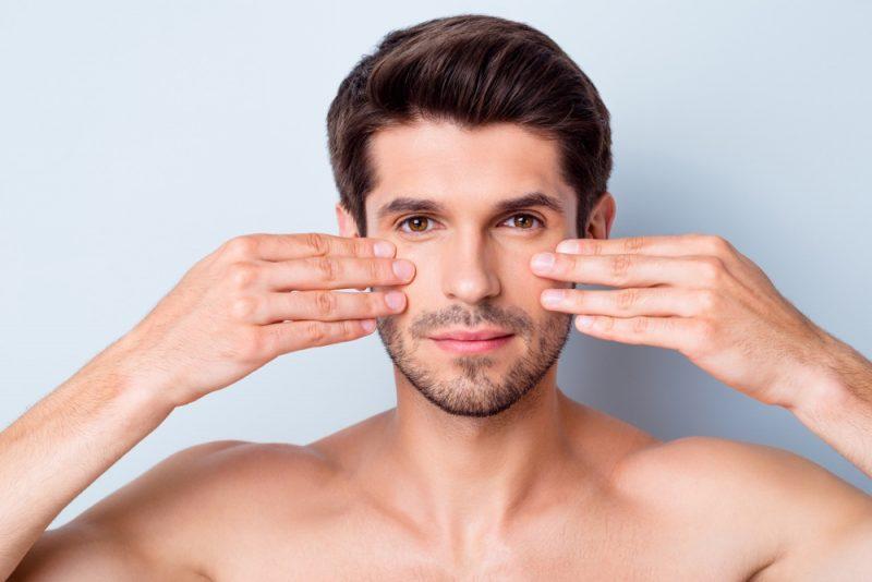 Man Face Treatment