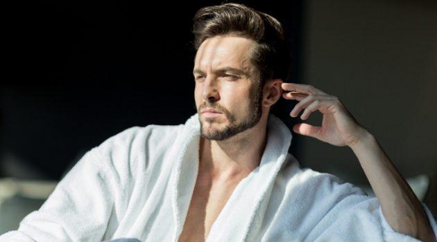 Man Luxury Hotel Robe