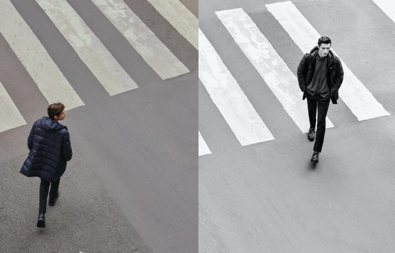Adrien Sahores & Jakob Zimny Take a Stroll in Massimo Dutti New Arrivals