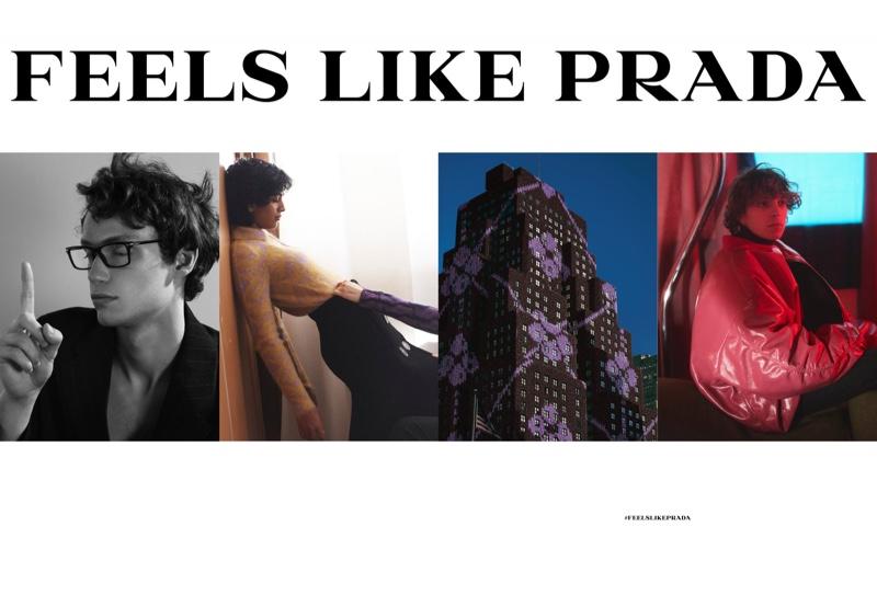 Feels Like Prada: Jaume, Lorenzo + More Front Fall Campaign