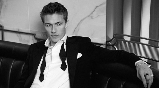 American model Lucky Blue Smith is a dapper vision as he fronts the Ralph Lauren Ralph's Club fragrance campaign.