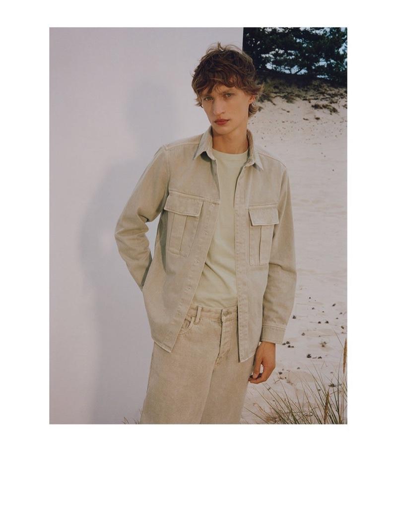 Nikita Stsjolokov Models 'Denim & More' for Reserved
