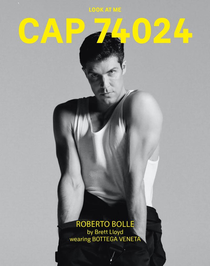 Roberto Bolle Shows Off His Moves in Bottega Veneta for CAP 74024