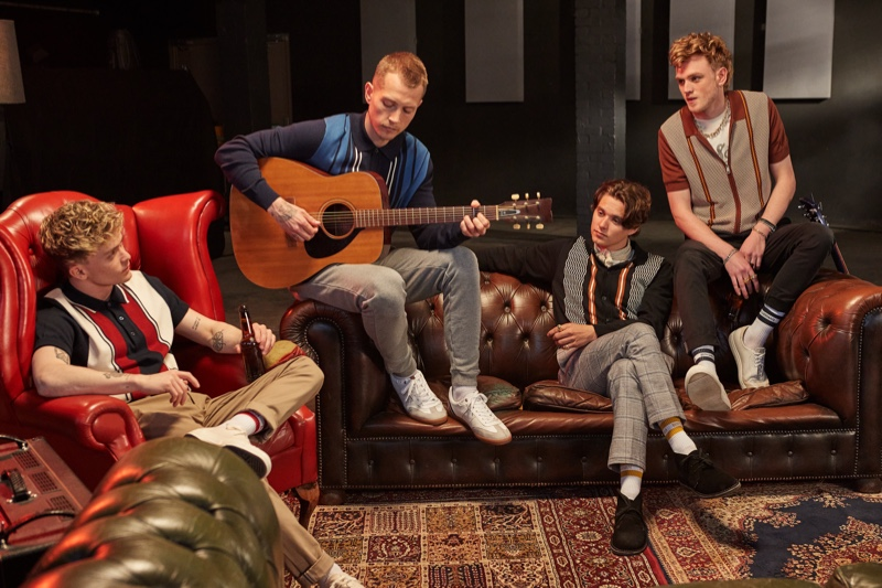 Ben Sherman enlists The Vamps as the stars of its fall-winter 2021 campaign.