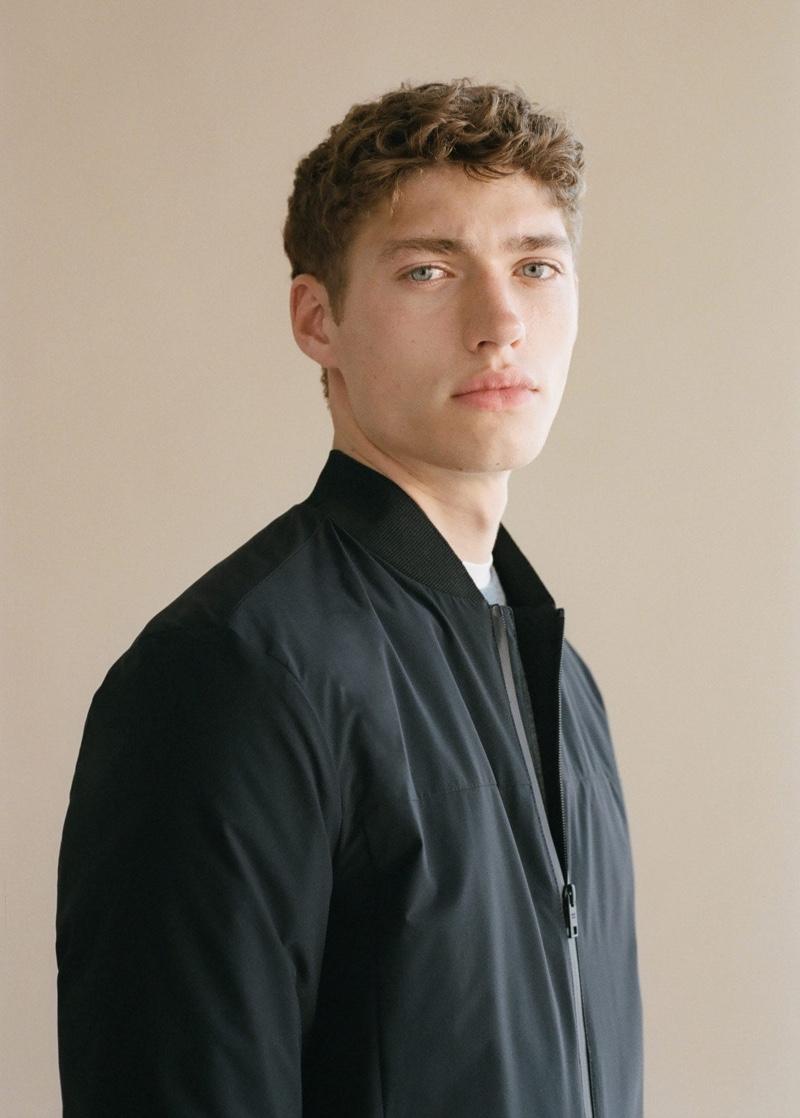 Valentin Humbroich Embraces Comfort & Style in Mango Man