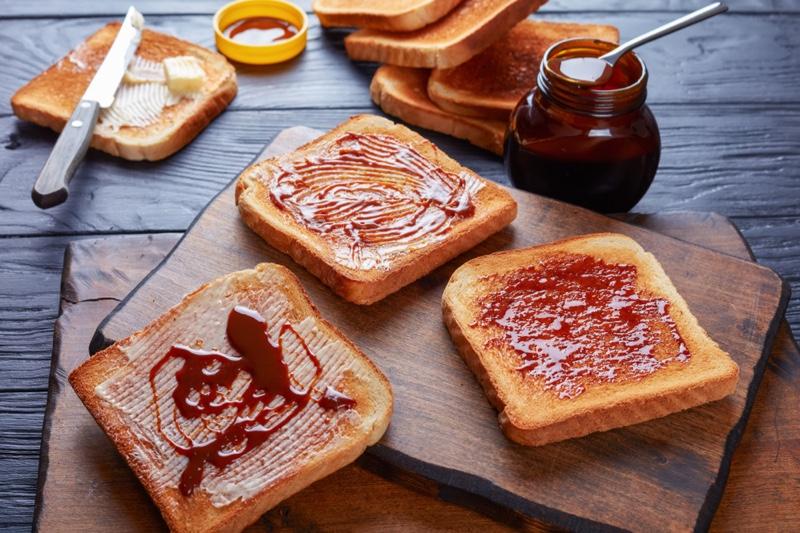 Vegemite Toast Food
