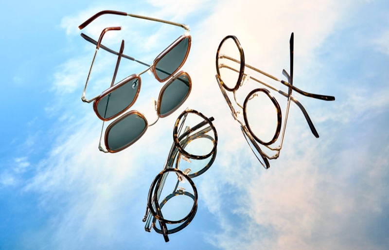 Floating Metal: Warby Parker Unveils New Silhouettes