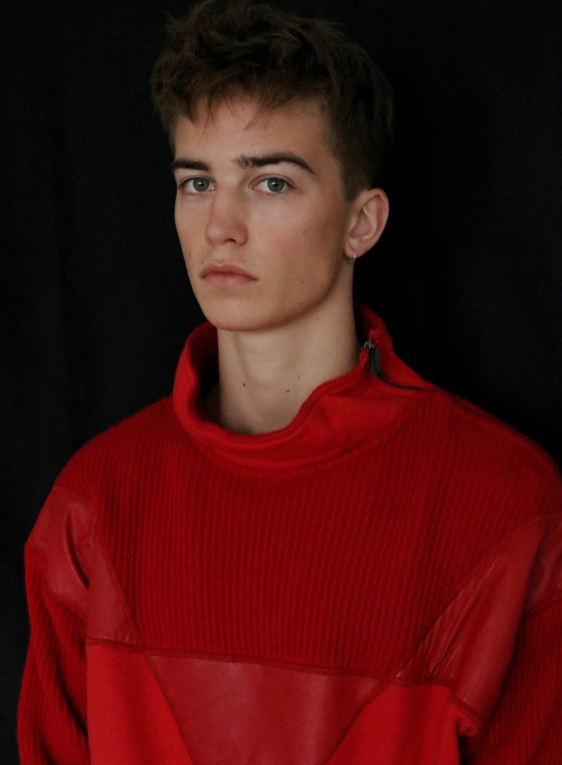 Fresh Face Ben Hits the Studio for First Shoot