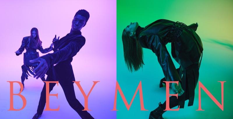 Hitting their best dance moves, Alton Mason and Nataliya Bulycheva star in Beymen's fall 2021 campaign.