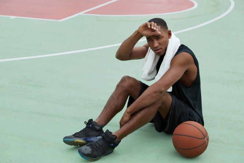 Black Basketball Sneakers