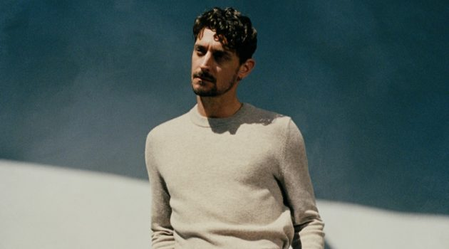 Choreographer Cameron McMillan stars in COS's fall-winter 2021 men's campaign.