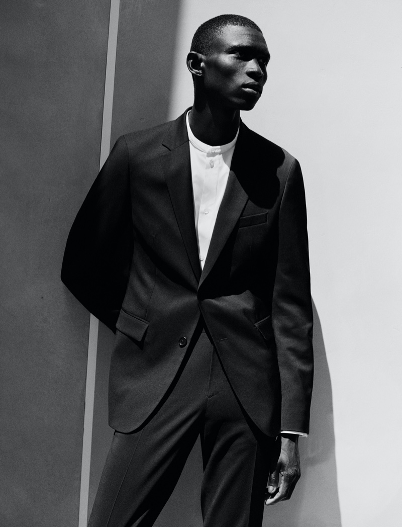 Reuniting with COS, model Fernando Cabral fronts the brand's fall-winter 2021 men's campaign.