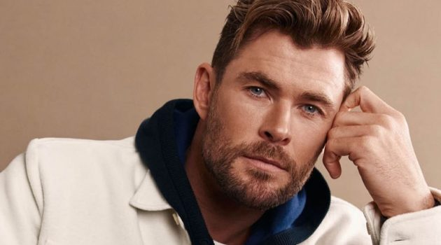 Chris Hemsworth stars in BOSS's fall-winter 2021 campaign.