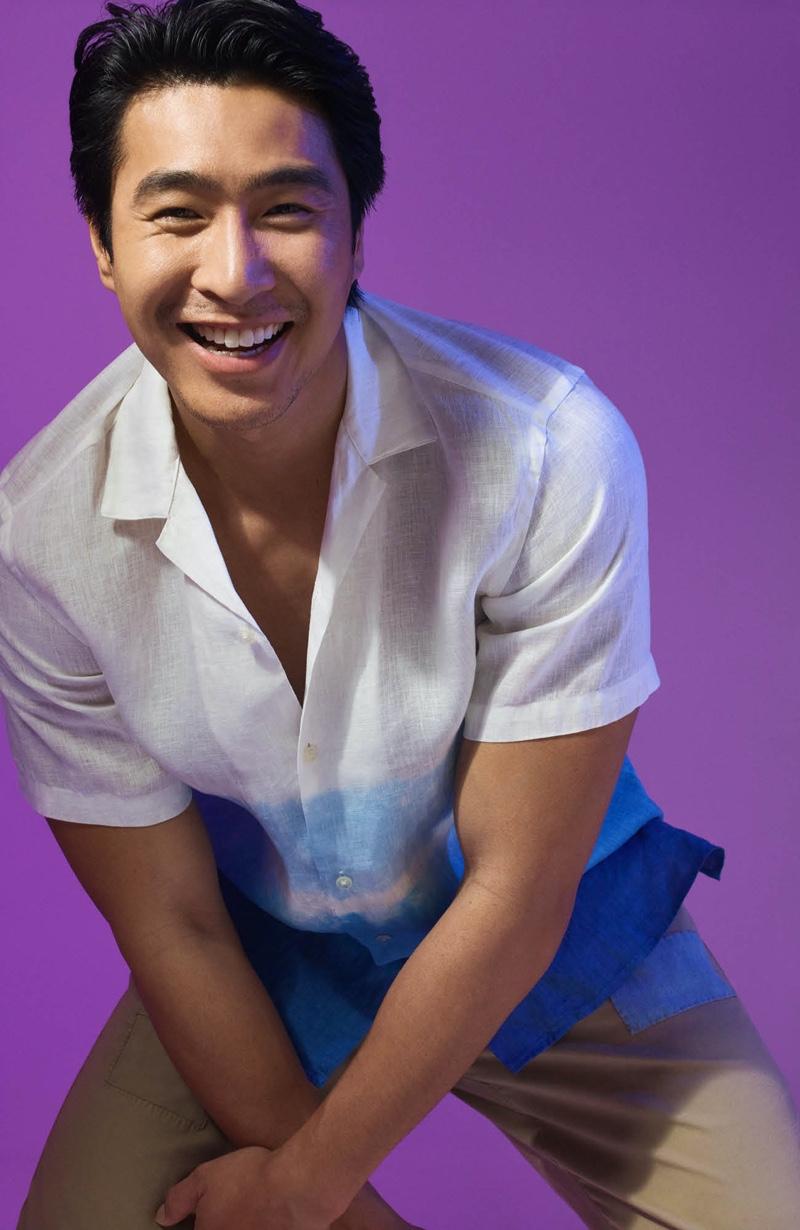 Chris Pang Inspires in Smart Looks for David Jones Style Series