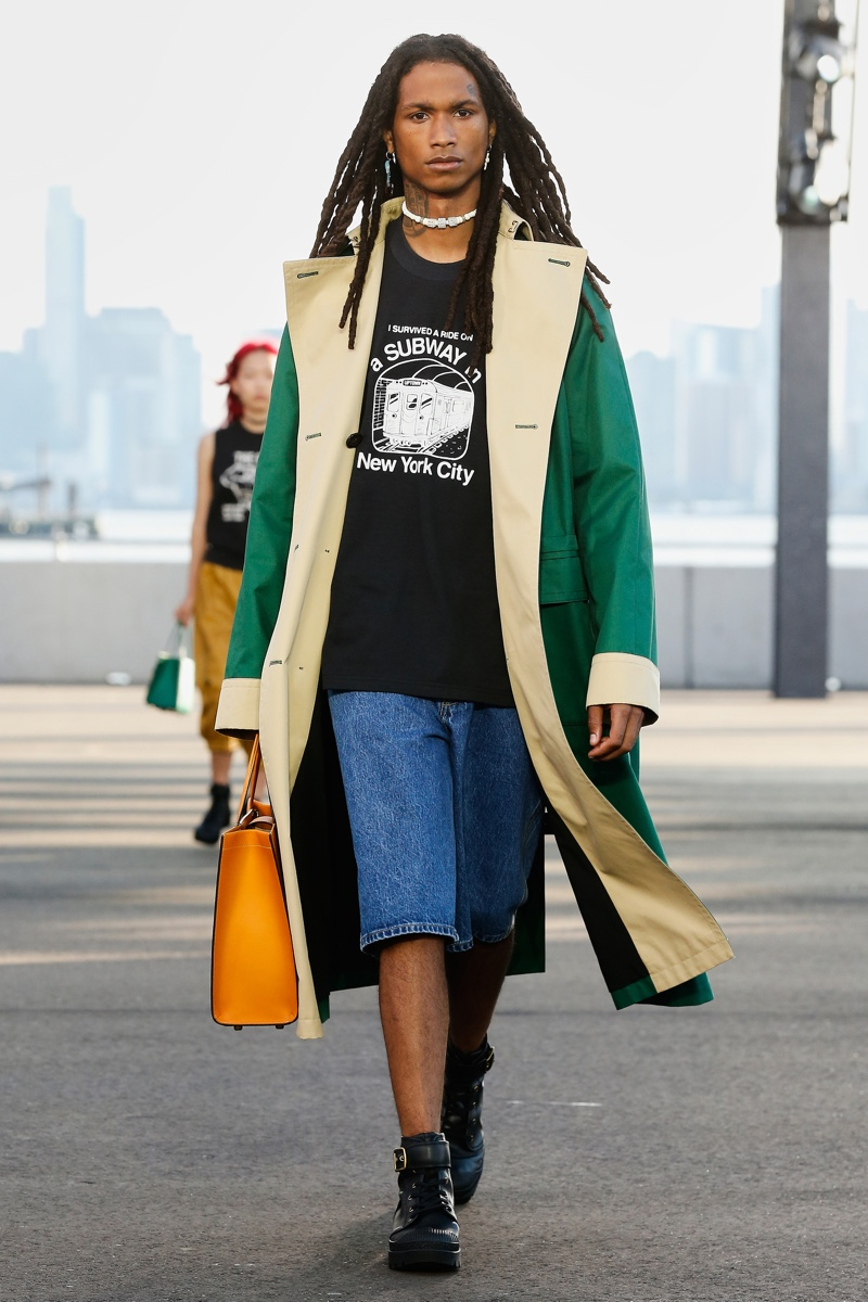 Coach Returns to the Runway with Carefree Spring Style