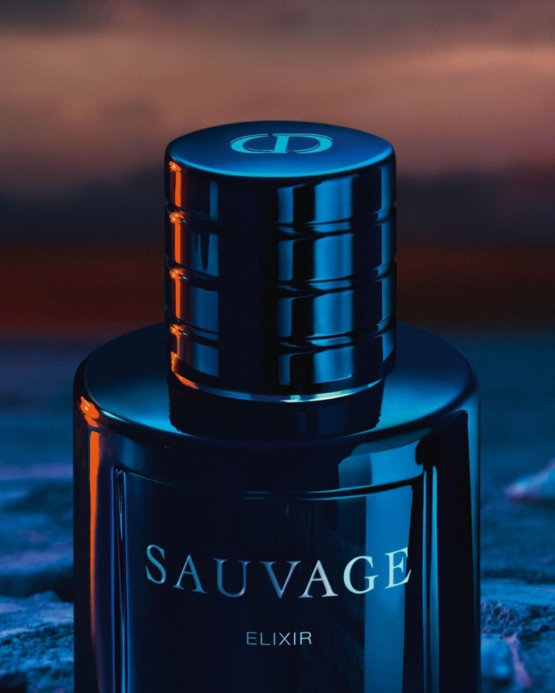Johnny Depp Reunites with Dior as Face of Sauvage Elixir Fragrance