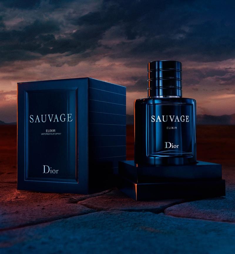 Dior's latest men's fragrance, Sauvage Elixir