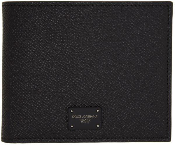 Dolce & Gabbana Black Dauphine Wallet