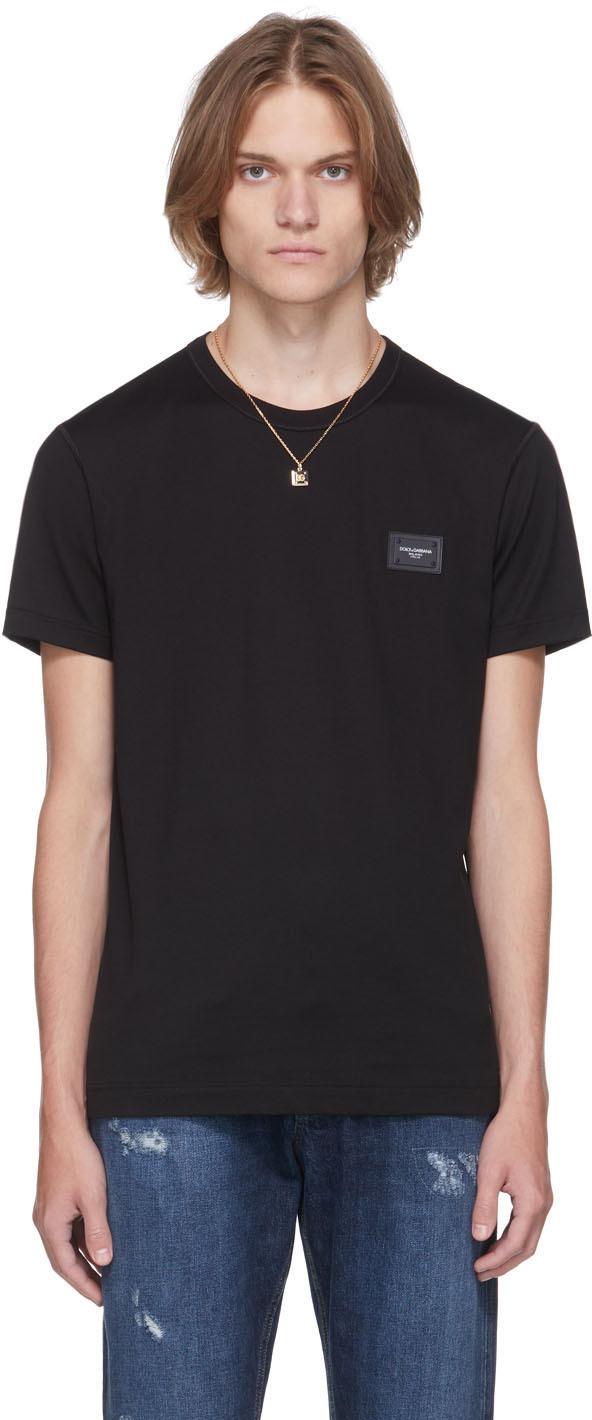 Dolce & Gabbana Black Essentials T-Shirt