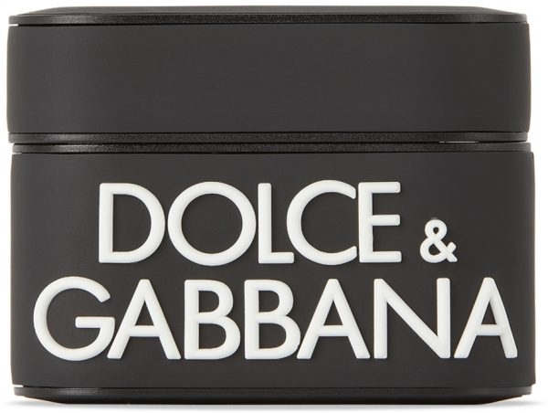 Dolce & Gabbana Black Logo AirPods Case