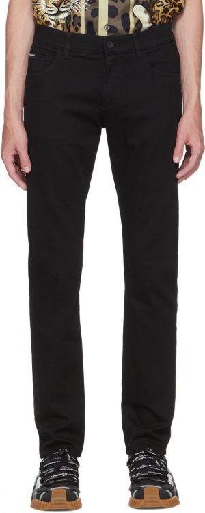 Dolce & Gabbana Black Slim Jeans