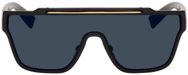 Dolce & Gabbana Black Viale Piave 20 Sunglasses