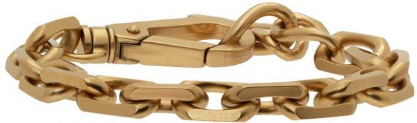 Dolce & Gabbana Gold Antique Chain Link Bracelet